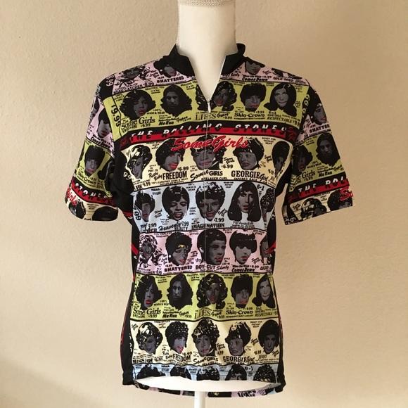 Primal Wear Primal Wear Rolling Stones Cycling Jersey